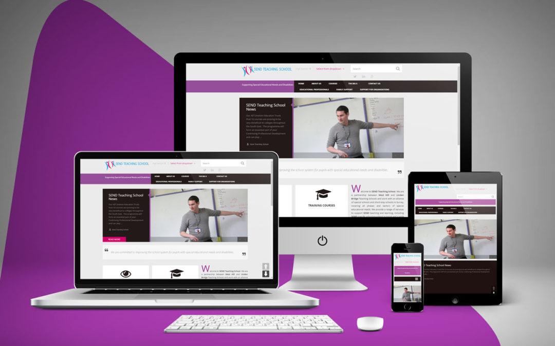 SEND Teaching School Website Goes Live