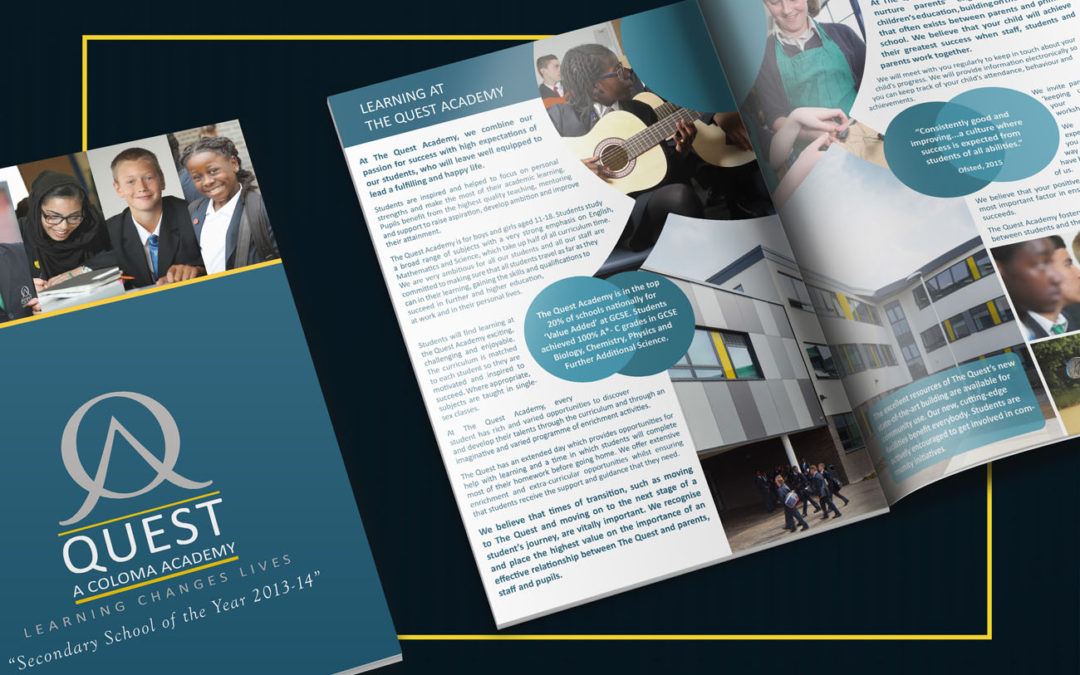 School Prospectus – because first impressions count!