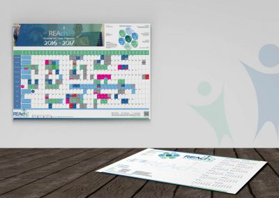 MAT ACADEMIC YEAR WALL PLANNER