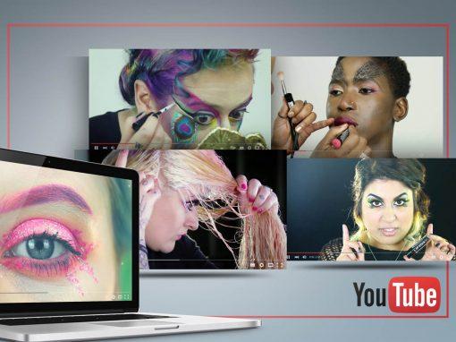 MAKE UP BRAND VIDEO BLOGS