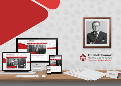 MEDICAL CONSULTANT WEBSITE & BRANDING PACKAGE
