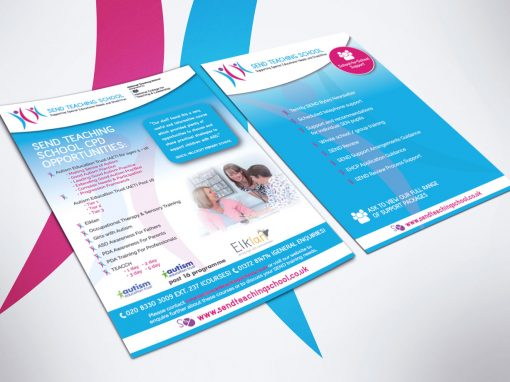 TEACHING SCHOOL LEAFLETS