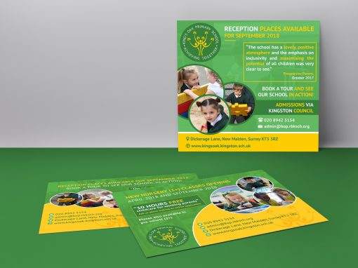 PRIMARY SCHOOL A5 FLYER and ADVERT