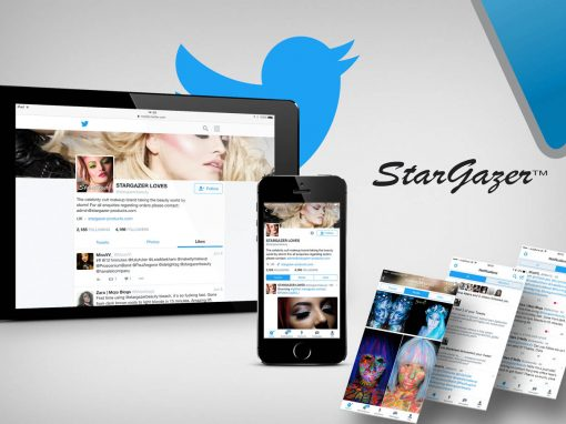 MAKE UP BRAND TWITTER MANAGEMENT