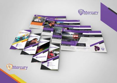 HEALTH AND SAFETY SUPPLIER TRIFOLD FLYERS