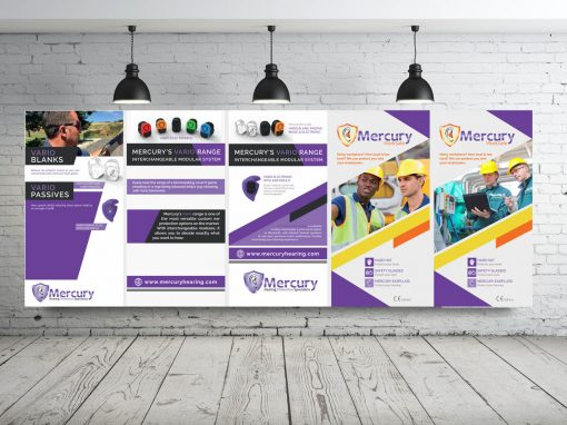 HEALTH AND SAFETY SUPPLIER DISPLAY BANNERS