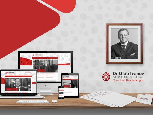 MEDICAL CONSULTANT WEBSITE & BRANDING PACKAGE