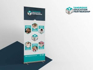 EDUCATION PARTNERSHIP ROLLER BANNER