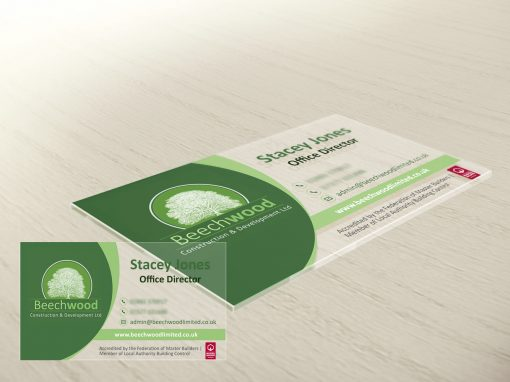 CONSTRUCTION INDUSTRY BUSINESS CARDS