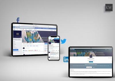 SOCIAL MEDIA SET-UP