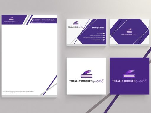 LOGO, BUSINESS CARDS AND STATIONERY