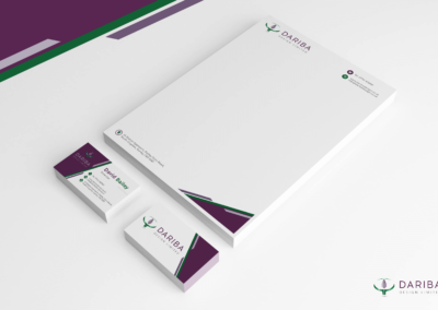 STATIONERY FOR ARCHITECTURAL DESIGN COMPANY